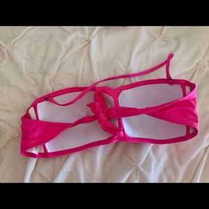 Kenneth Cole Reaction Swim - Kenneth Cole XL Bandeau Swim Bikini Top NEW